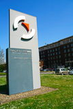 Офисное здание Зальцгиттер AG, Зальцгиттер, Германию стоковое изображение