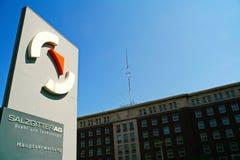 Офисное здание Зальцгиттер AG, Зальцгиттер, Германию Стоковые Изображения RF