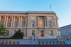 Офисное здание дома карамболя в DC Вашингтона стоковое фото