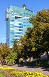 Офисное здание русской нефтяной компании Rosneft в самаре, России стоковое изображение