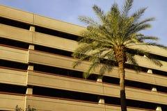 Самомоднейшее городское корпоративное офисное здание Стоковые Фотографии RF