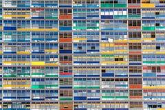 Офисное здание Windows Стоковая Фотография