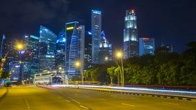 Офисные здания на месте Сингапуре лотерей Стоковая Фотография RF