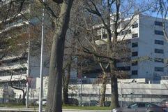 Офисные здания расположенные в городском Нью-Йорке стоковое изображение rf