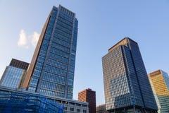 Офисные здания в Нагое, Японии Стоковое фото RF