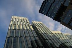 Офисные здания, Манчестер Стоковое Фото