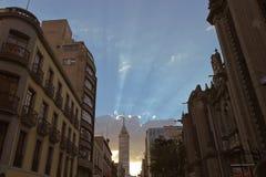 Офисные здания на Мехико Стоковое фото RF