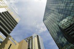 Офисные здания Стоковые Фотографии RF