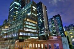 Офисные здания Стоковое фото RF