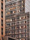 Офисы от улицы стоковое изображение