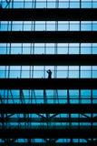 офис бизнесмена здания потерянный Стоковые Фотографии RF