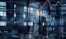 офис бизнесмена самомоднейший Мультимедиа Мультимедиа Стоковое фото RF