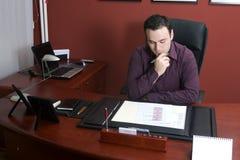 офис бизнесмена Стоковое Изображение