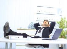 офис бизнесмена Стоковая Фотография RF