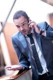 офис бизнесмена Стоковое Изображение RF
