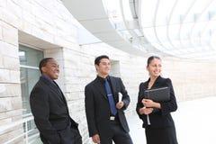офис встречи бизнес-группы Стоковые Изображения RF