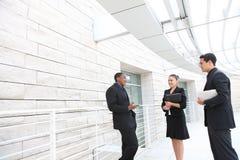 офис встречи бизнес-группы Стоковые Фото