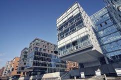 офис Германии hamburg здания самомоднейший стоковое изображение rf