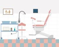 Офис гинеколога Стоковое Фото