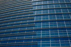офис голубого здания самомоднейший Стоковые Изображения RF
