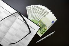 офис евро Стоковые Фото