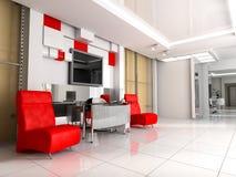 офис залы Стоковые Фотографии RF