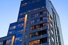 офис здания банка Стоковое Фото
