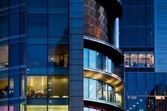 офис здания банка Стоковые Изображения RF