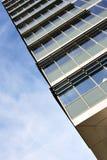 офис здания угловойой самомоднейший Стоковые Изображения