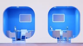 офис информации для потребителей Стоковое фото RF