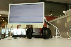 Офис и компьютер Стоковое Изображение