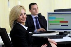 офис коллегаов Стоковая Фотография RF