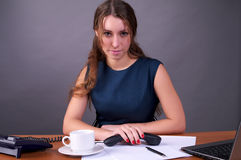 офис коммерсантки Стоковая Фотография