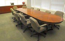 офис комнаты правления стоковая фотография