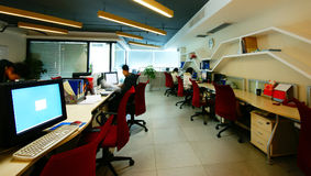 офис компании Стоковые Фотографии RF
