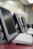 офис компьютеров Стоковые Фотографии RF