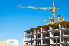 офис конструкции здания вниз стоковая фотография rf