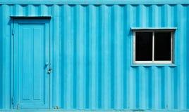 Офис контейнера стоковая фотография rf
