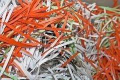 офис конфиденциальных документов shredded Стоковая Фотография