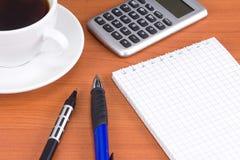 офис кофе вспомогательного оборудования Стоковые Фото