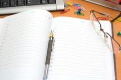офис настольного компьютера Стоковое Изображение RF
