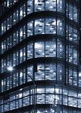 офис ночи блока Стоковые Фотографии RF