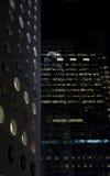 офис ночи зданий Стоковые Изображения