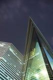офис ночи здания Стоковые Фотографии RF