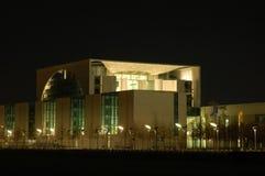 офис ночи здания Стоковое Изображение RF