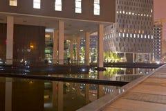 офис ночи зоны Стоковые Изображения RF