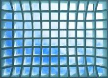 офис потолка здания геометрический Стоковая Фотография RF