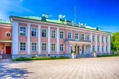 Офис президента республики Эстонии в Таллине Стоковые Фотографии RF