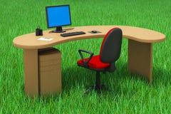 офис принципиальной схемы напольный Стоковое Фото