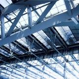 офис серого цвета потолка здания Стоковые Фото